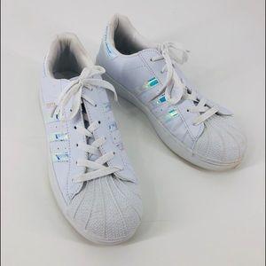71569e339 Women Iridescent Adidas on Poshmark